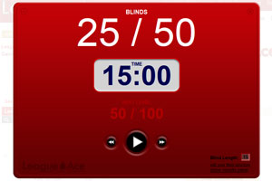 Poker League Timer
